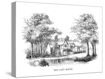 'The Cake House', c1870-Unknown-Stretched Canvas Print