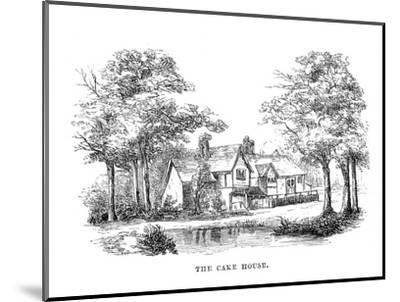 'The Cake House', c1870-Unknown-Mounted Giclee Print