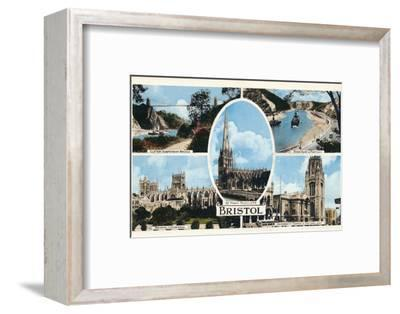 'Bristol', c1940s-Unknown-Framed Photographic Print