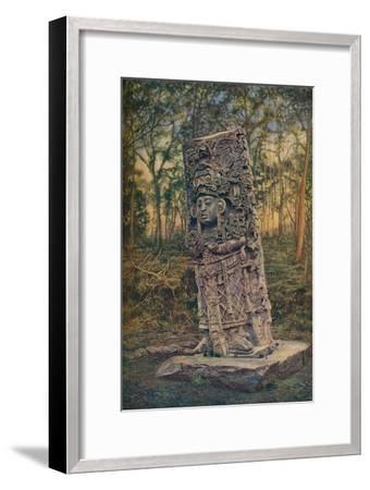 'Central America ...', c1920-Unknown-Framed Giclee Print