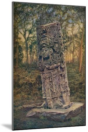 'Central America ...', c1920-Unknown-Mounted Giclee Print