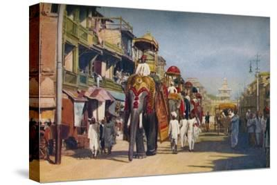 'Bombay ...', c1920-Unknown-Stretched Canvas Print