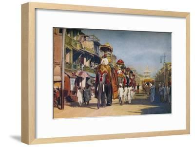 'Bombay ...', c1920-Unknown-Framed Giclee Print