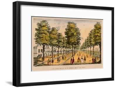 'The Royal Palace of St. James's Next The Park', c1870-Unknown-Framed Giclee Print