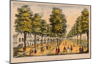 'The Royal Palace of St. James's Next The Park', c1870-Unknown-Mounted Giclee Print