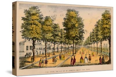 'The Royal Palace of St. James's Next The Park', c1870-Unknown-Stretched Canvas Print