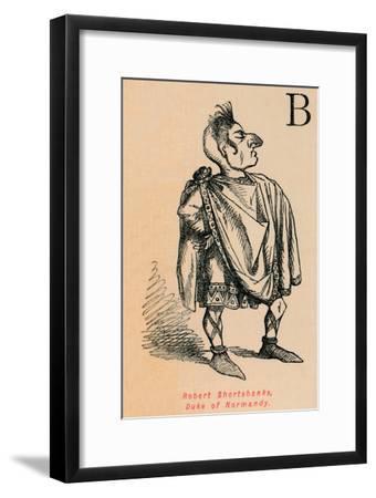 'Robert Shortshanks, Duke of Normandy', c1860, (c1860)-John Leech-Framed Giclee Print