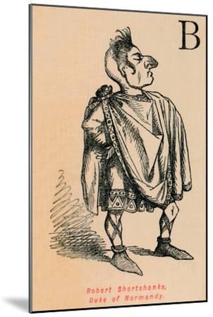'Robert Shortshanks, Duke of Normandy', c1860, (c1860)-John Leech-Mounted Giclee Print