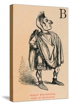 'Robert Shortshanks, Duke of Normandy', c1860, (c1860)-John Leech-Stretched Canvas Print