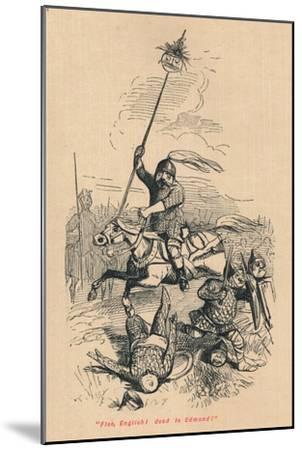 Flee, English! Dead is Edmond!', c1860, (c1860)-John Leech-Mounted Giclee Print