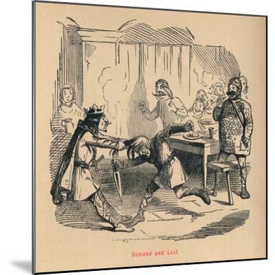 'Edmund and Leof', c1860, (c1860)-John Leech-Mounted Giclee Print