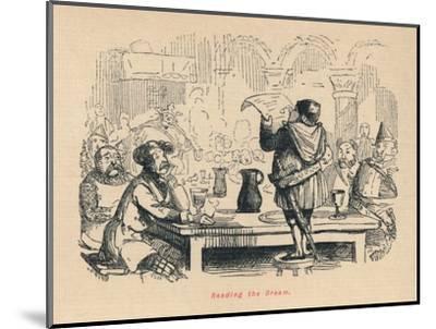 'Reading the Dream', c1860, (c1860)-John Leech-Mounted Giclee Print