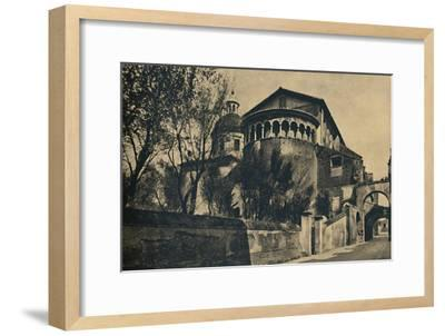 'Roma - Clivus Scauri and Apse of the Church of SS. Giovanni and Paolo on the Caelian Hill', 1910-Unknown-Framed Giclee Print