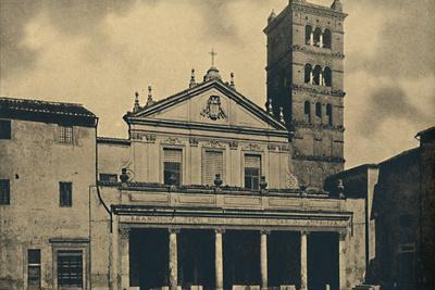 'Roma - St. Caecilia's Church', 1910-Unknown-Framed Photographic Print