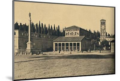 ''Roma - Basilica di S. Lorenzo fuori le Mura', 1910-Unknown-Mounted Photographic Print