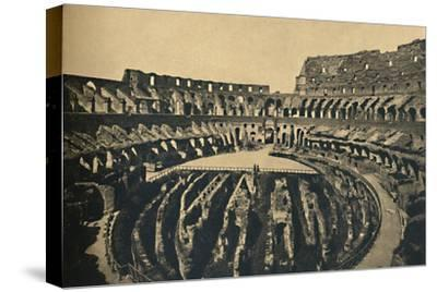 'Roma - Flavien Ampitheatre', 1910-Unknown-Stretched Canvas Print