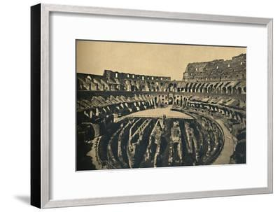 'Roma - Flavien Ampitheatre', 1910-Unknown-Framed Giclee Print