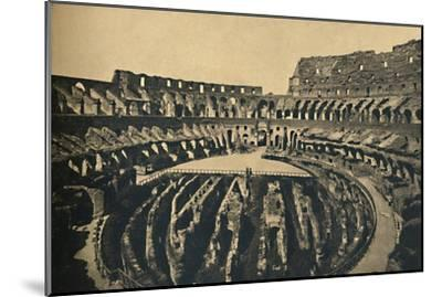'Roma - Flavien Ampitheatre', 1910-Unknown-Mounted Giclee Print