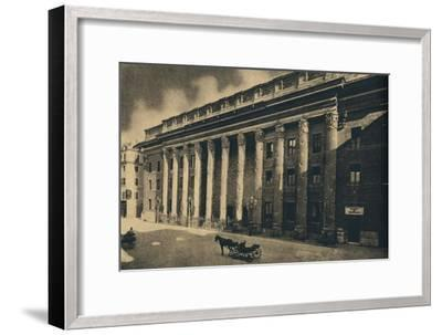 'Roma - Piazza di Pietra', 1910-Unknown-Framed Giclee Print