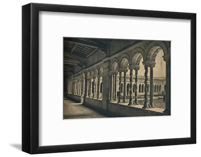 Roma - St. Paul without the Walls - Cloister of the Monastery of the Benedictine Monks-Unknown-Framed Photographic Print