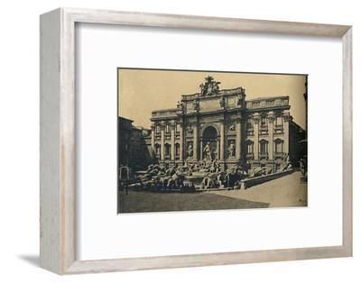 'Roma - Fountain of Trevi', 1910-Unknown-Framed Photographic Print