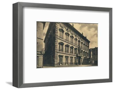 'Roma - Palace of the Senate', 1910-Unknown-Framed Photographic Print