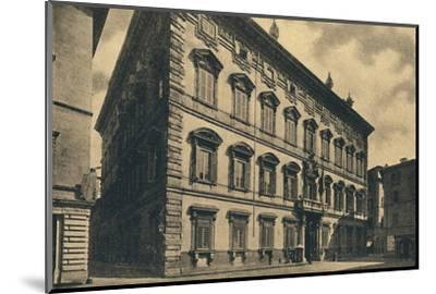 'Roma - Palace of the Senate', 1910-Unknown-Mounted Photographic Print