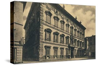 'Roma - Palace of the Senate', 1910-Unknown-Stretched Canvas Print