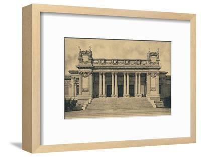 'Roma - Valle Giulia. National Gallery of Modern Art. (Bazzani, 1910)', 1910-Unknown-Framed Photographic Print