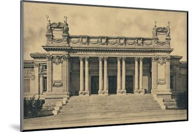 'Roma - Valle Giulia. National Gallery of Modern Art. (Bazzani, 1910)', 1910-Unknown-Mounted Photographic Print