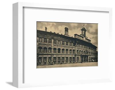 'Roma - 'Palacae of Montecitorio', 1910-Unknown-Framed Photographic Print