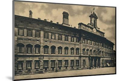 'Roma - 'Palacae of Montecitorio', 1910-Unknown-Mounted Photographic Print