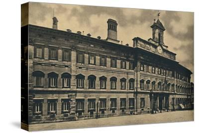 'Roma - 'Palacae of Montecitorio', 1910-Unknown-Stretched Canvas Print