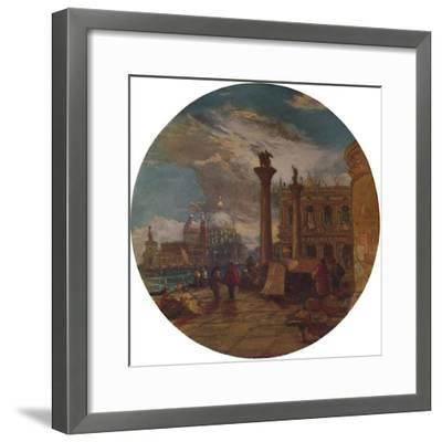 'The Piazza of St. Mark's Venice', 1853, (1935)-James Holland-Framed Giclee Print