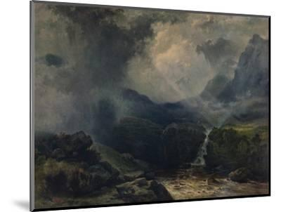 'A Rift in the Gloom', 19th century, (1935)-George Edwards Hering-Mounted Giclee Print