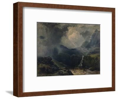 'A Rift in the Gloom', 19th century, (1935)-George Edwards Hering-Framed Giclee Print