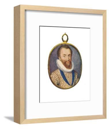 'Robert Devereux, Earl of Essex', c1580-1610, (1903)-Unknown-Framed Giclee Print