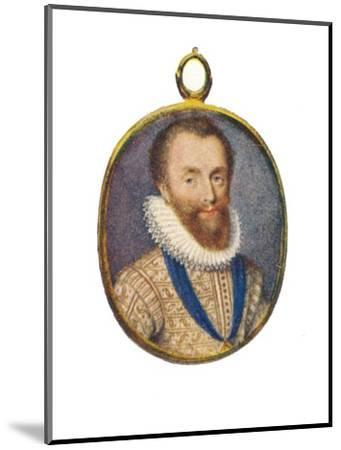 'Robert Devereux, Earl of Essex', c1580-1610, (1903)-Unknown-Mounted Giclee Print