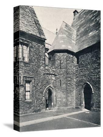 'The Treasury, Merton College, Oxford', 1903-Unknown-Stretched Canvas Print