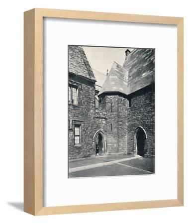 'The Treasury, Merton College, Oxford', 1903-Unknown-Framed Photographic Print