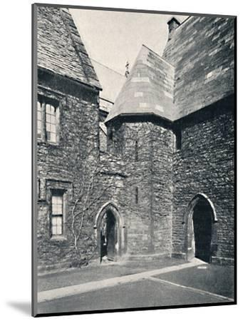 'The Treasury, Merton College, Oxford', 1903-Unknown-Mounted Photographic Print