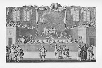 'A Court of Law About 1733', c1733, (1904)-Unknown-Framed Giclee Print