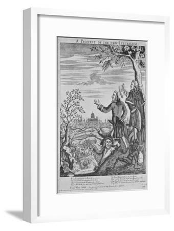 'Anti-Semitism in 1753', 1735, (1904)-Unknown-Framed Giclee Print