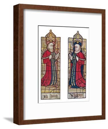 'Serjeants at Law. (Long Melford Church, Suffolk)', 1903-Unknown-Framed Giclee Print