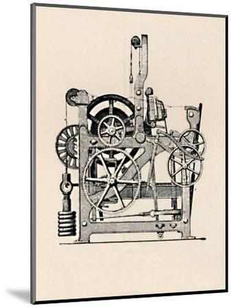 'Power Loom (Side View)', 1836, (1904)-Unknown-Mounted Giclee Print