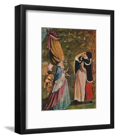 'Be Not Amazed, Dear Mother! It Is Indeed Your Daughter Anne', 18th century (1904)-Unknown-Framed Giclee Print