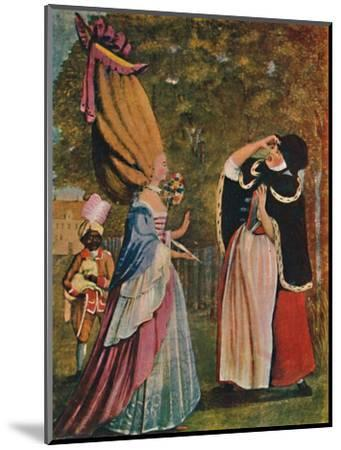 'Be Not Amazed, Dear Mother! It Is Indeed Your Daughter Anne', 18th century (1904)-Unknown-Mounted Giclee Print
