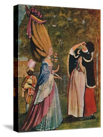 'Be Not Amazed, Dear Mother! It Is Indeed Your Daughter Anne', 18th century (1904)-Unknown-Stretched Canvas Print