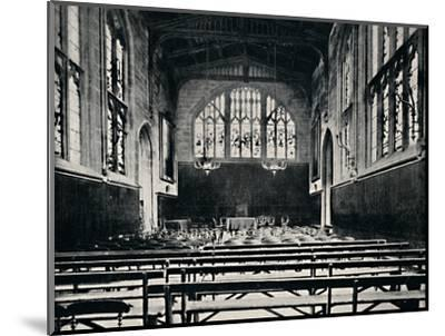 'St. Mary's Hall, Coventry', 1903-Unknown-Mounted Photographic Print