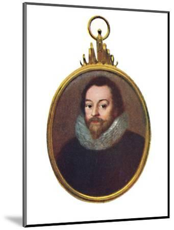 'Sir Francis Drake', c1580-1610, (1903)-Unknown-Mounted Giclee Print